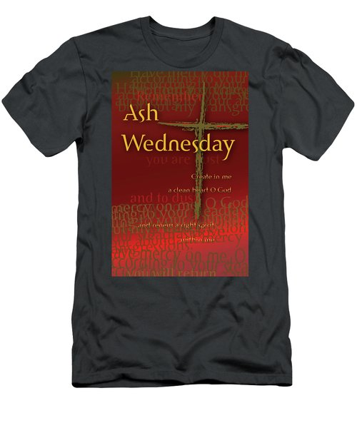 Ash Wednesday Men's T-Shirt (Athletic Fit)