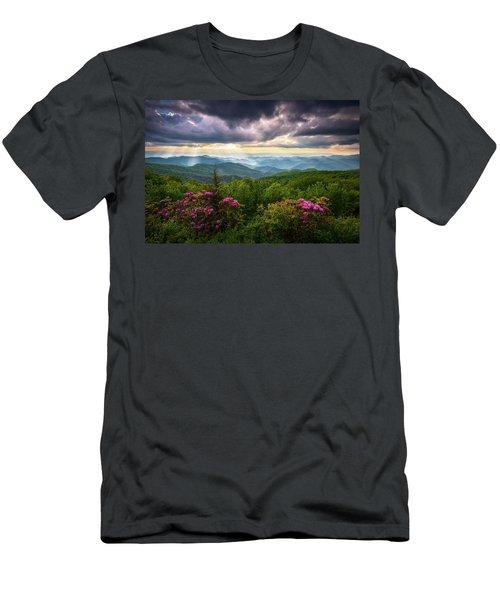 Asheville Nc Blue Ridge Parkway Scenic Landscape Photography Men's T-Shirt (Athletic Fit)