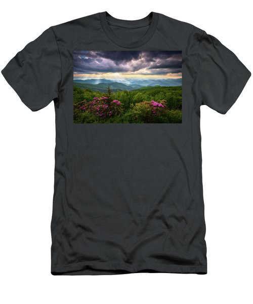 Asheville Nc Blue Ridge Parkway Scenic Landscape Photography Men's T-Shirt (Athletic Fit)