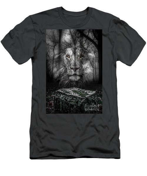 Aslan And The Stone Table Men's T-Shirt (Athletic Fit)