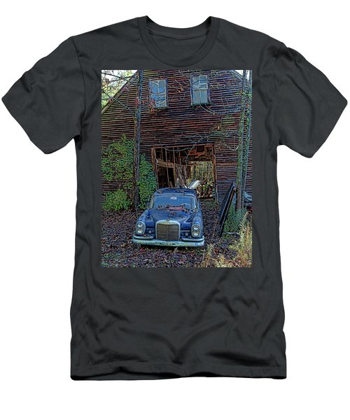 Asleep At The Wheel Men's T-Shirt (Athletic Fit)