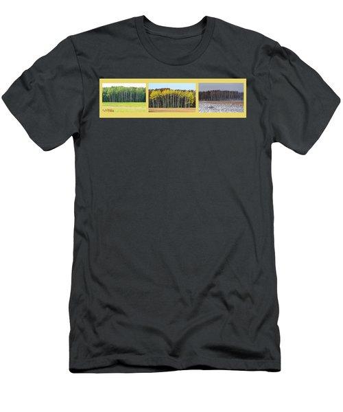 Aspen Triptych Men's T-Shirt (Athletic Fit)