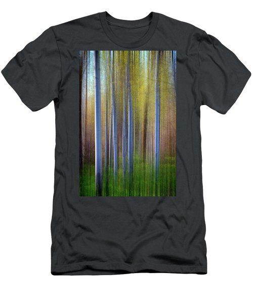 Aspens In Springtime Men's T-Shirt (Athletic Fit)