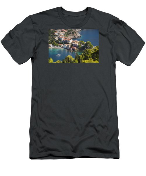 Men's T-Shirt (Slim Fit) featuring the photograph Assos In Greece by Rob Hemphill