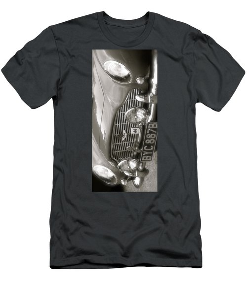 Men's T-Shirt (Slim Fit) featuring the photograph Aston Martin Db5 Smart Phone Case by John Colley