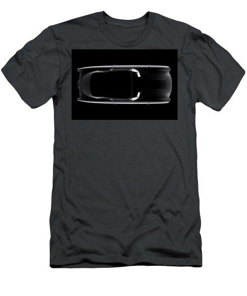 Aston Martin Db5 - Top View Men's T-Shirt (Athletic Fit)