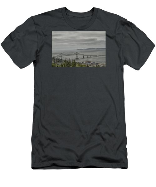 Men's T-Shirt (Slim Fit) featuring the photograph Astoria, Gateway To Oregon by Tom Kelly