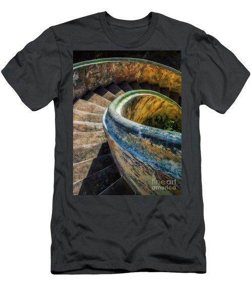 Asylum Staircase Men's T-Shirt (Athletic Fit)