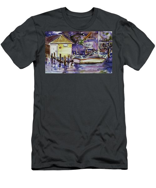 At Boat House 3 Men's T-Shirt (Athletic Fit)