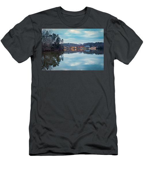 At Home On The Lake Men's T-Shirt (Athletic Fit)