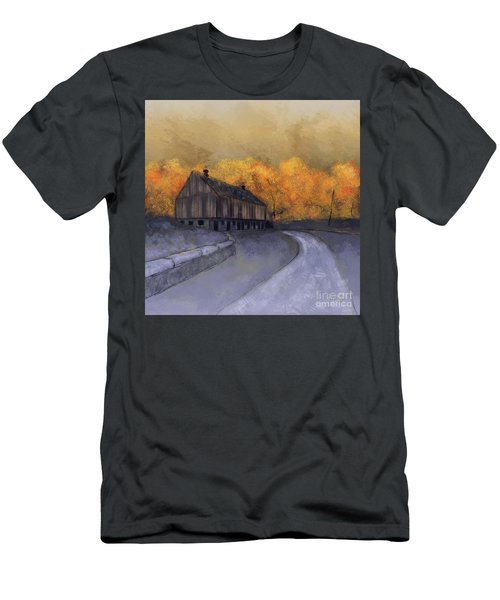 Men's T-Shirt (Athletic Fit) featuring the digital art At Just Dawn by Lois Bryan