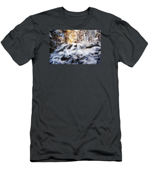 At Last Winter Arrived Men's T-Shirt (Athletic Fit)