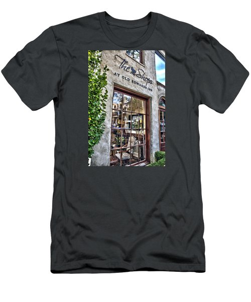 Men's T-Shirt (Slim Fit) featuring the photograph at Old Edwards Inn by Allen Carroll