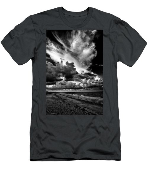 At The Beach Men's T-Shirt (Slim Fit) by Kevin Cable