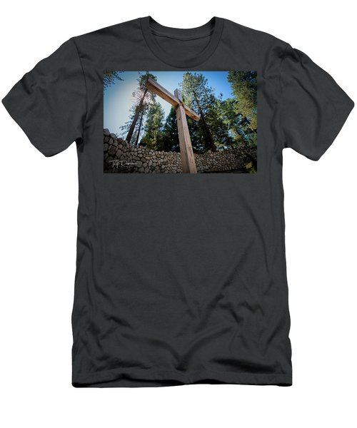 At The Cross Men's T-Shirt (Athletic Fit)