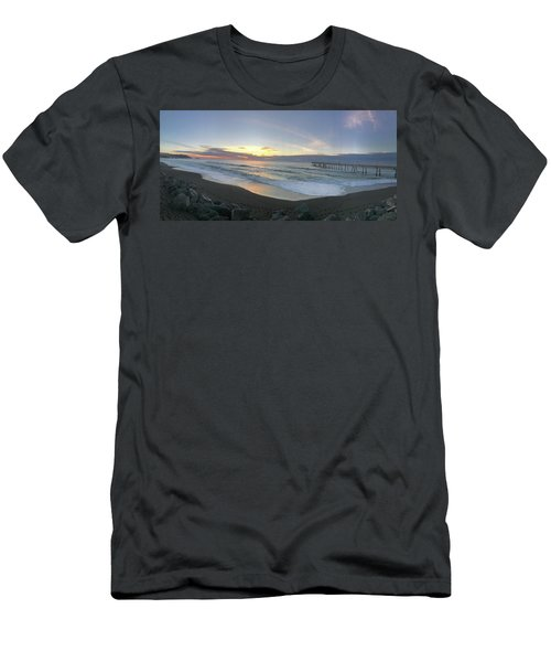 At The Pier Men's T-Shirt (Athletic Fit)
