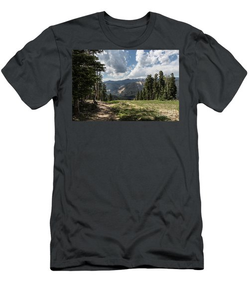 At The Top Of The Run Men's T-Shirt (Athletic Fit)