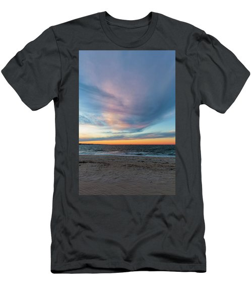 At Twilight Men's T-Shirt (Slim Fit) by David Cote