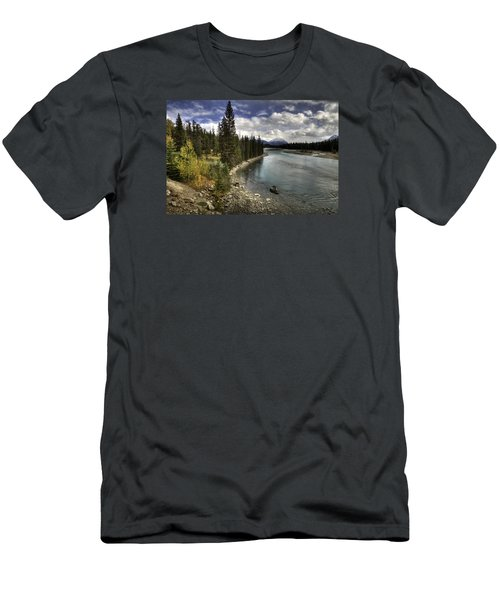 Athabasca River Men's T-Shirt (Athletic Fit)