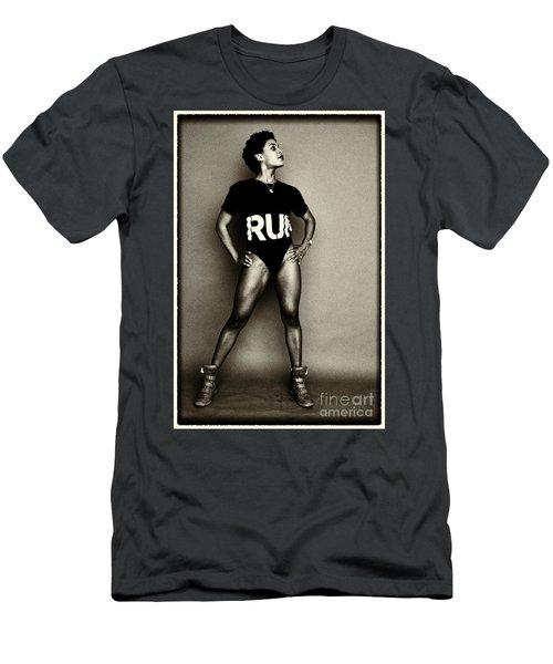 Athletic Woman Men's T-Shirt (Athletic Fit)