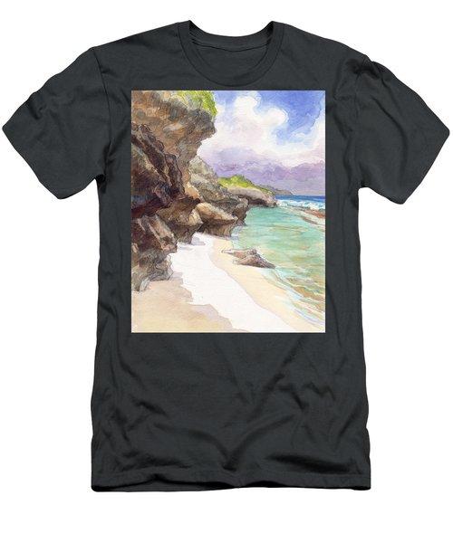 Atiu, Taungaroro Landing Men's T-Shirt (Athletic Fit)