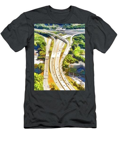 Atlanta Highways Men's T-Shirt (Athletic Fit)