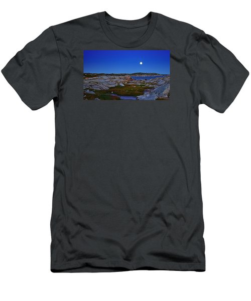 Atlantic Moon  Men's T-Shirt (Athletic Fit)