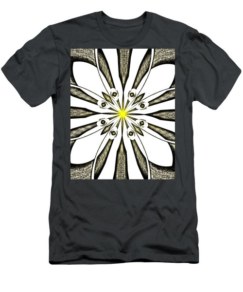 Atomic Lotus No. 3 Men's T-Shirt (Athletic Fit)