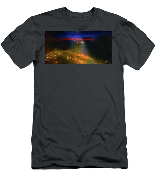 Attack Of The Aliens Men's T-Shirt (Athletic Fit)