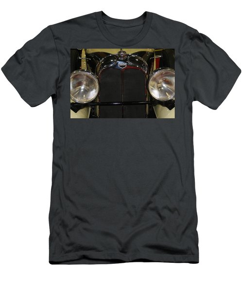 Men's T-Shirt (Athletic Fit) featuring the photograph Auburn 8-88 Boat Tail Speedster by Vadim Levin