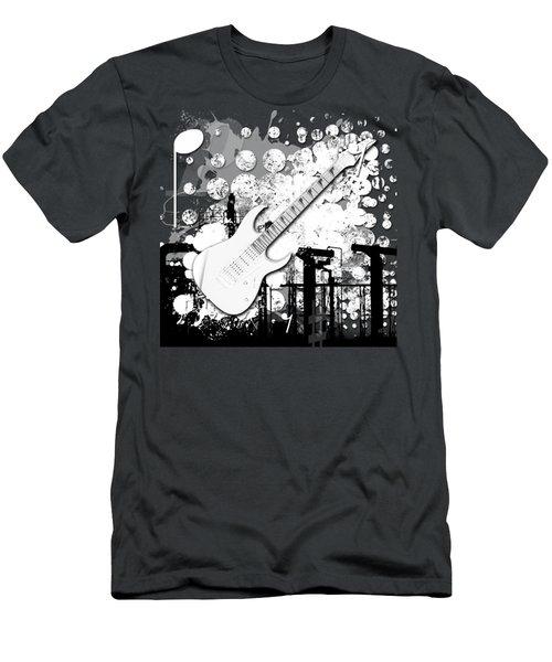 Audio Graphics 2 Men's T-Shirt (Athletic Fit)