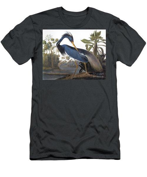Audubon Heron, 1827 Men's T-Shirt (Athletic Fit)
