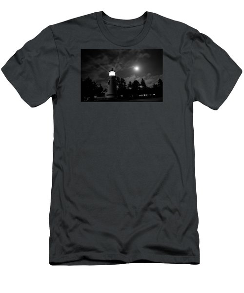 August Moon Men's T-Shirt (Slim Fit) by Adria Trail