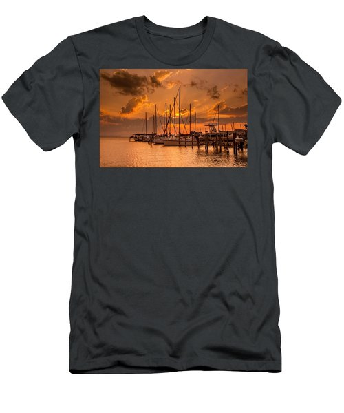 August Sunset Men's T-Shirt (Athletic Fit)