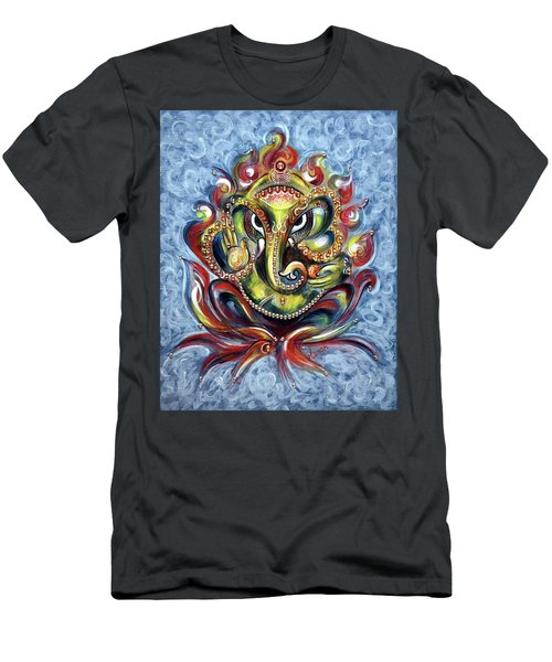 Aum Ganesha Men's T-Shirt (Athletic Fit)