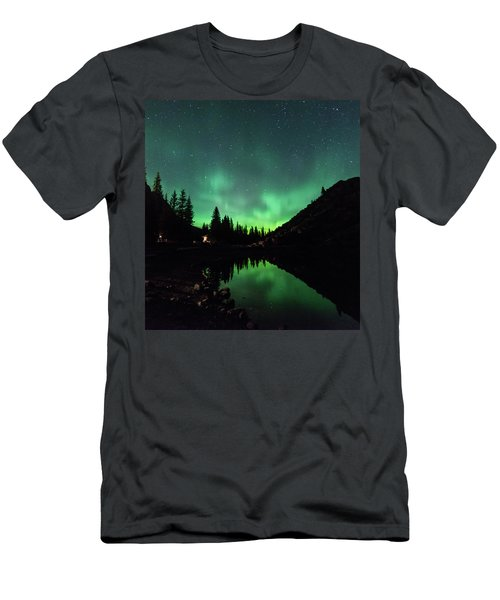Aurora On Moraine Lake Men's T-Shirt (Athletic Fit)