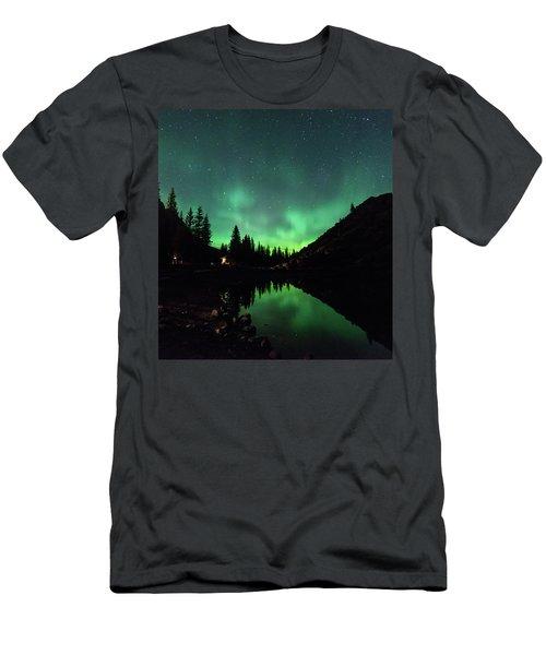Aurora On Moraine Lake Men's T-Shirt (Athletic Fit)