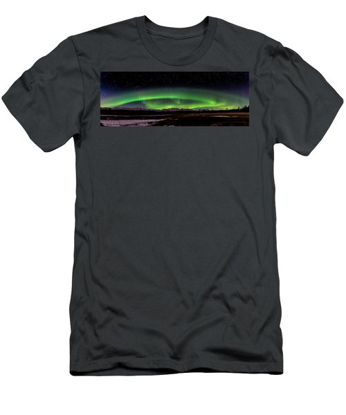 Aurora Spiral Men's T-Shirt (Athletic Fit)