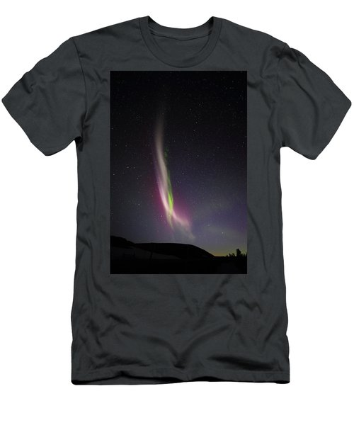 Auroral Phenomonen K Nown As Steve, 6 Men's T-Shirt (Athletic Fit)