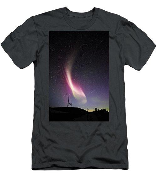 auroral Phenomonen known as Steve 3 Men's T-Shirt (Athletic Fit)