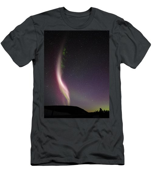 Auroral Phenomonen Known As Steve, 7 Men's T-Shirt (Athletic Fit)