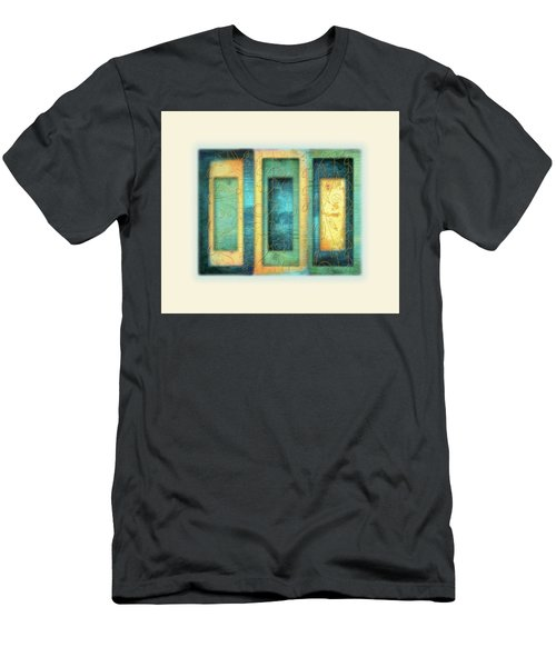 Men's T-Shirt (Slim Fit) featuring the painting Aurora's Vision by Deborah Smith