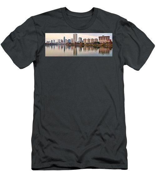 Austin Elongated Men's T-Shirt (Slim Fit) by Frozen in Time Fine Art Photography