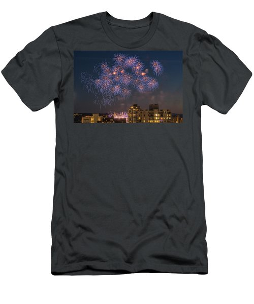 Australia 3 Men's T-Shirt (Slim Fit) by Ross G Strachan