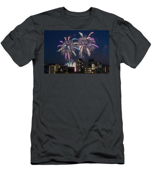 Australia 4 Men's T-Shirt (Slim Fit) by Ross G Strachan