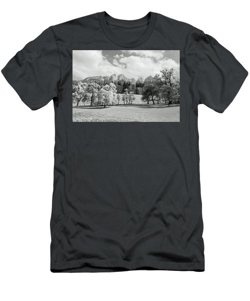 Men's T-Shirt (Slim Fit) featuring the photograph Austrian Landscape by Brooke T Ryan