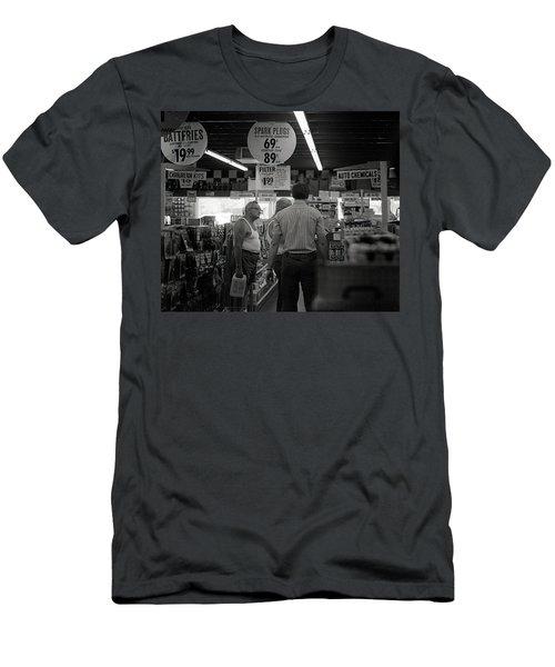 Auto-parts Store, 1972 Men's T-Shirt (Athletic Fit)