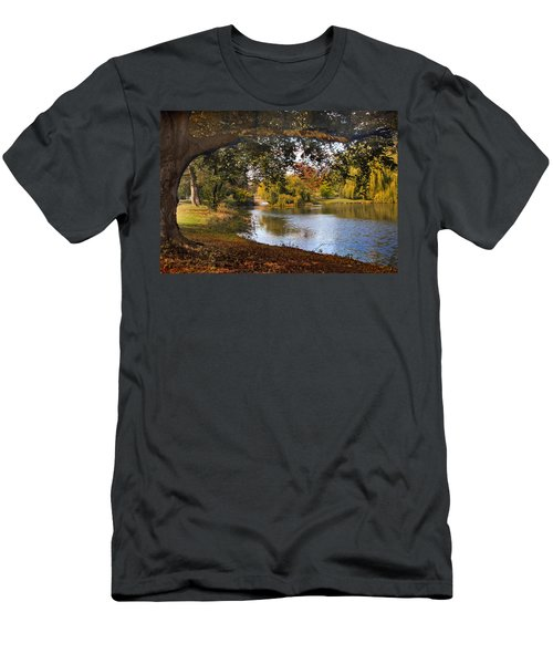 Autumn At Woodlawn Men's T-Shirt (Athletic Fit)