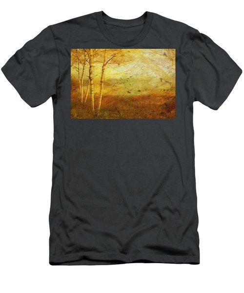 Autumn Breeze Men's T-Shirt (Athletic Fit)