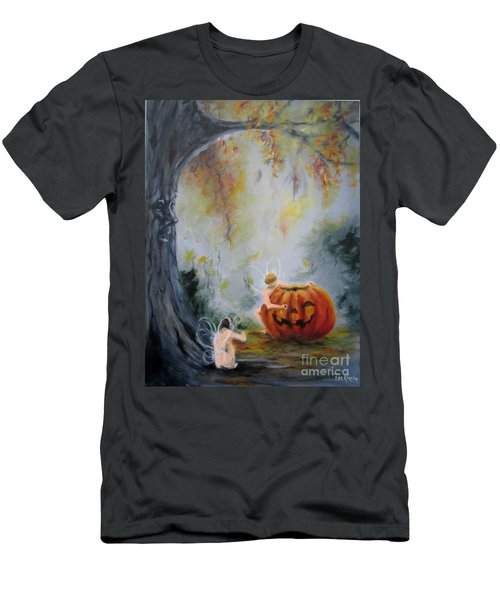 Autumn Color Celebration Men's T-Shirt (Athletic Fit)